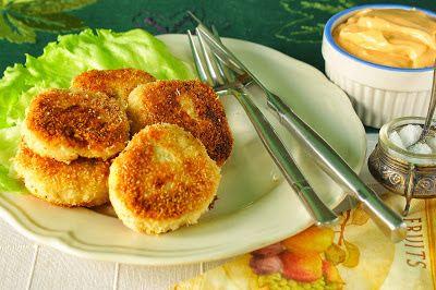 Kókuszos csirkefalatkák tiroli mártással (paleo)