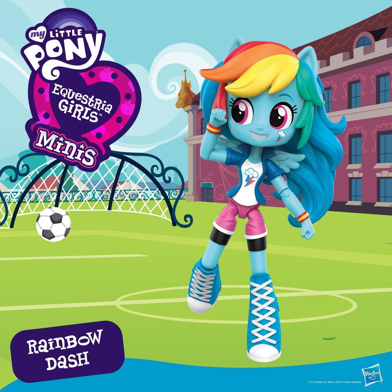 Amazon Com My Little Pony Equestria Girls Minis Rainbow Dash Doll