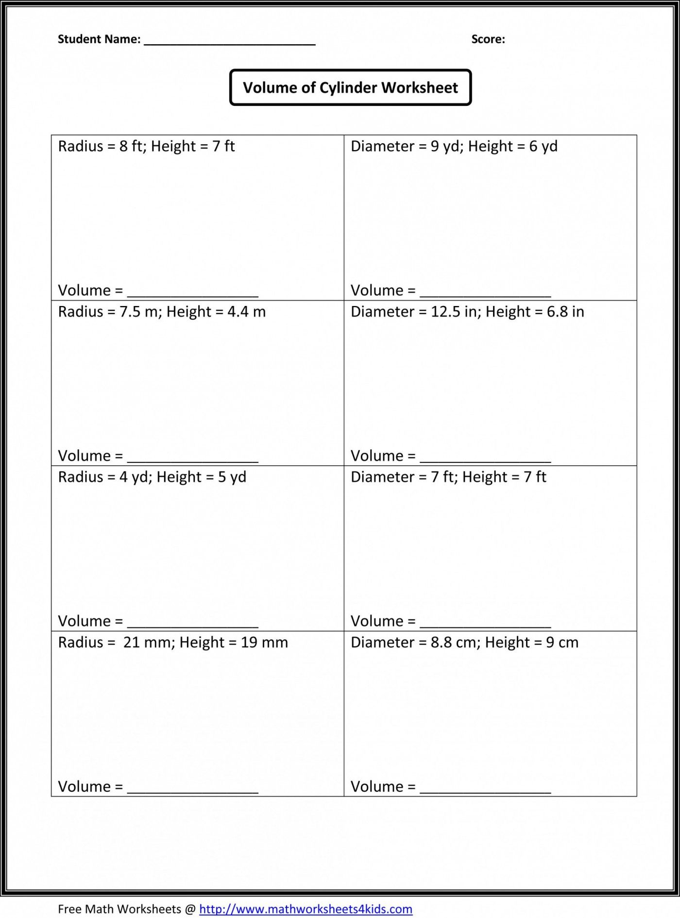 41 Simple Ratio Worksheets Design