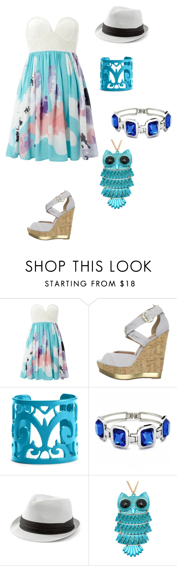 """Beach Time!"" by xniallerspotato ❤ liked on Polyvore featuring Izabel London, Madison Harding, Moschitto Designs, Fantasy Jewelry Box and White House Black Market"