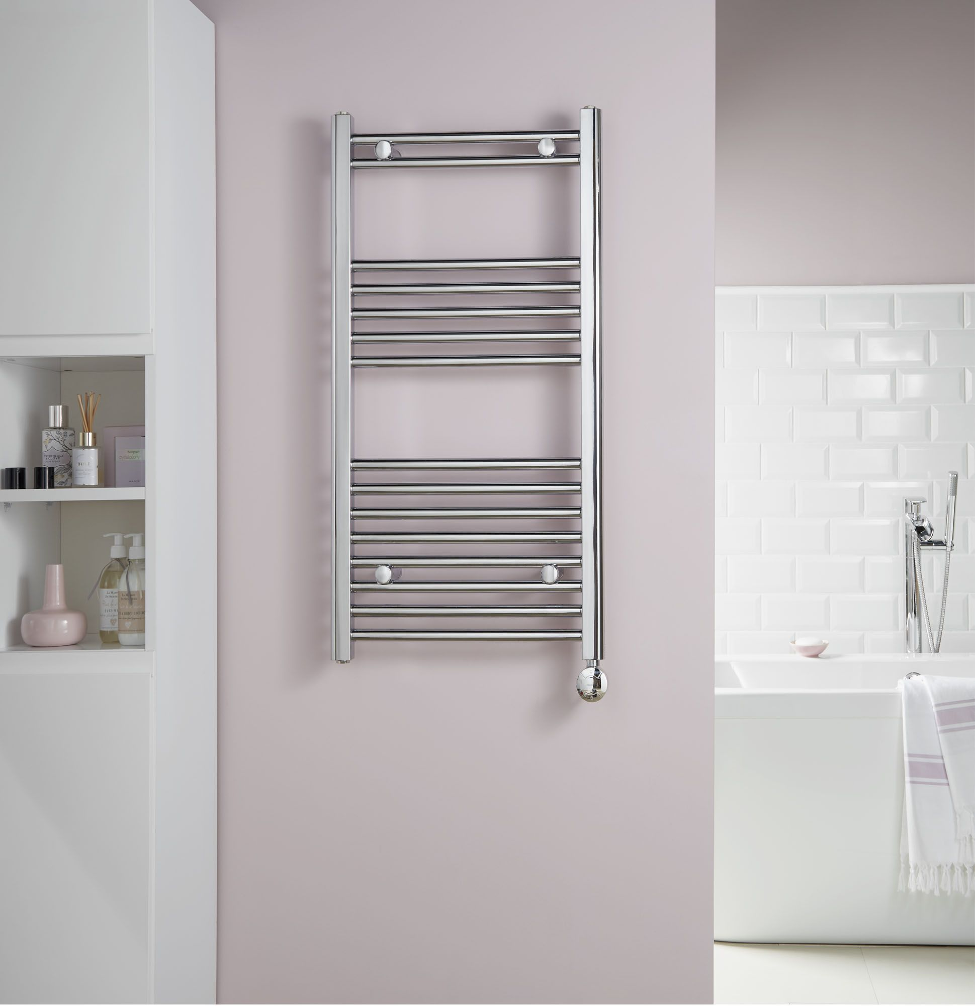 The Towelrads McCarthy Towel Rail range offers