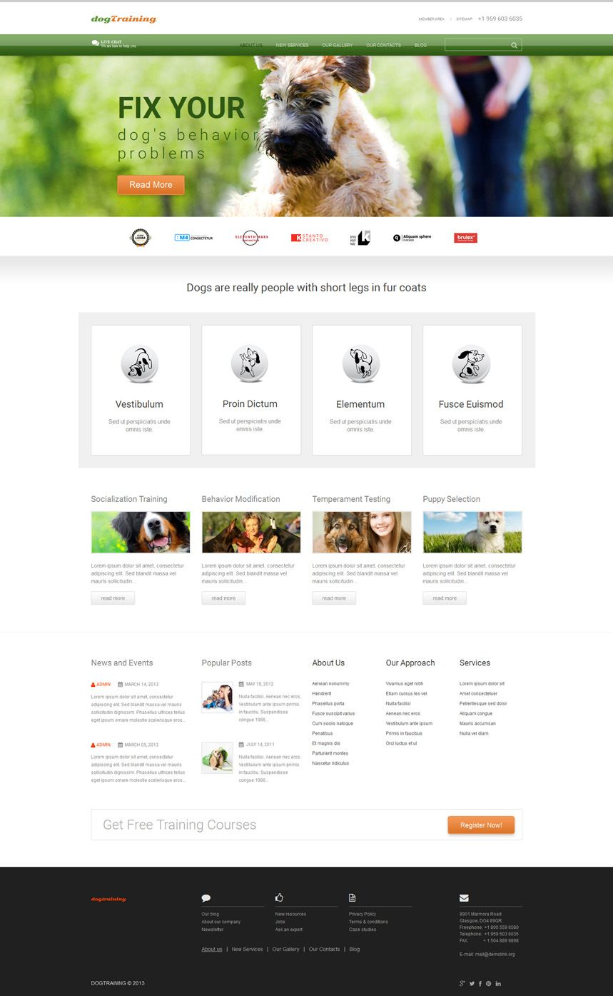 webdesign web color inspiration ideas wordpress theme