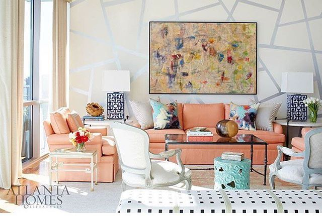 Thanks for the fun Q&A with @eliz_ralls on website @godesigngo So excited for full feature coming out in January issue of @atlantahomesmag of our fun & colorful Atlanta high rise project (📸 @mali_azima) check out story link in profile!