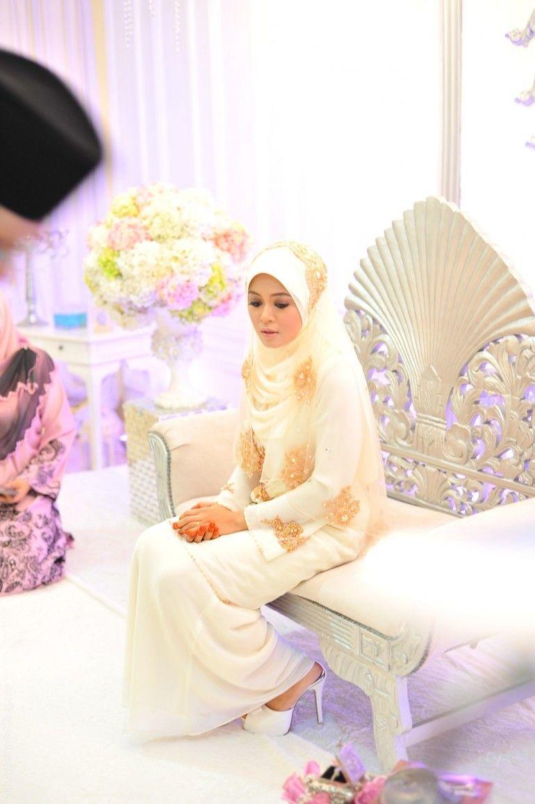 Malay modern reception dresses busana pengantin wedding