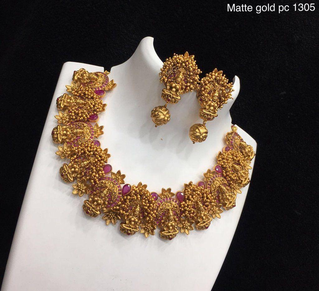 Lakshmi pendant set jewellery pinterest pendant set jewelry