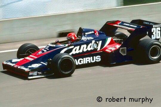1983 Montreal Toleman TG183 B Bruno Giacomelli