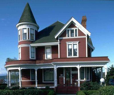 Exterior House Paint Colors Ideas Victorian Home