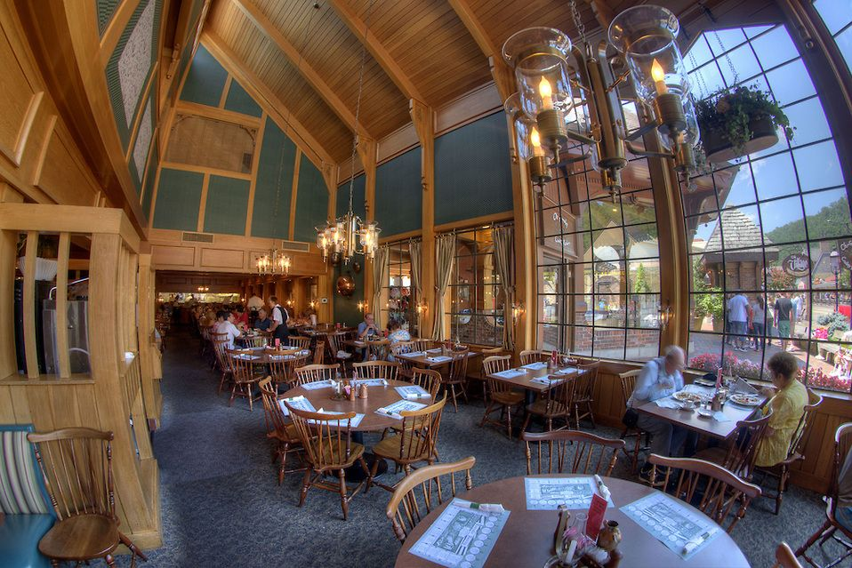 The Cavernous Front Dining Area At The #Pancake Pantry In #Gatlinburg, TN #
