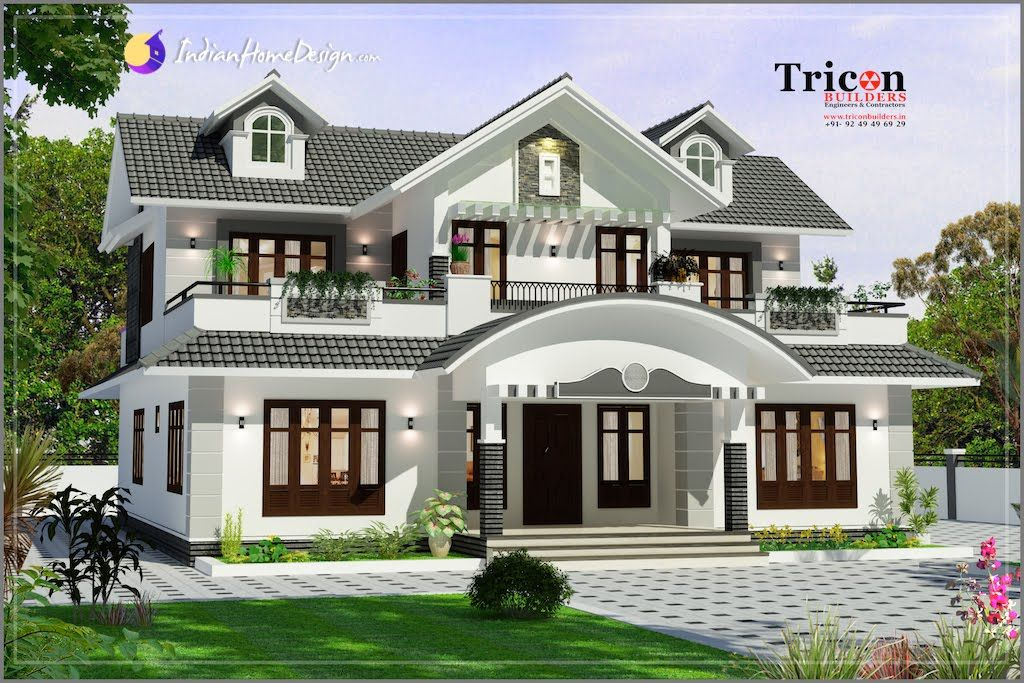 kerala house design archives indianhomedesign com houses - Home Designed