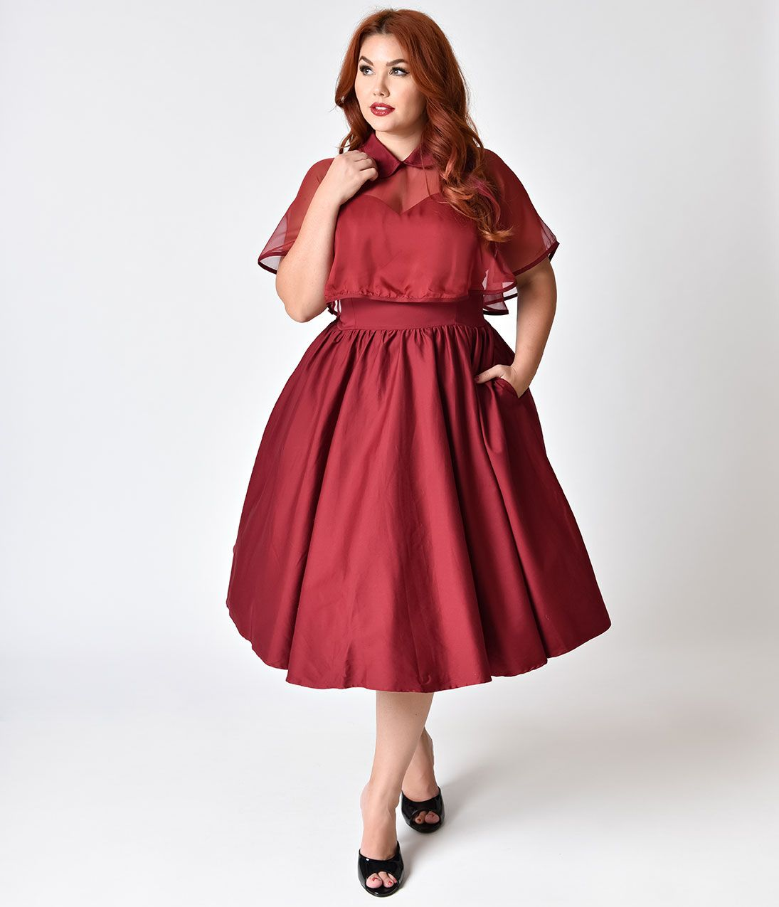 Vintage Style Christmas Dresses, Sweaters, Clothing ...