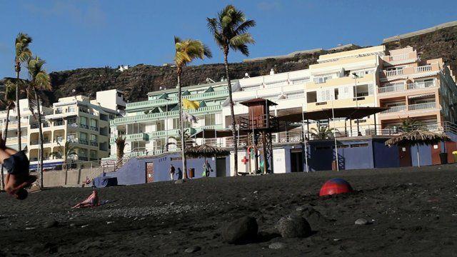 Una forma diferente de disfrutar de las playas de La Palma.  Agradecimientos a: Egonay, Jesi y Joel
