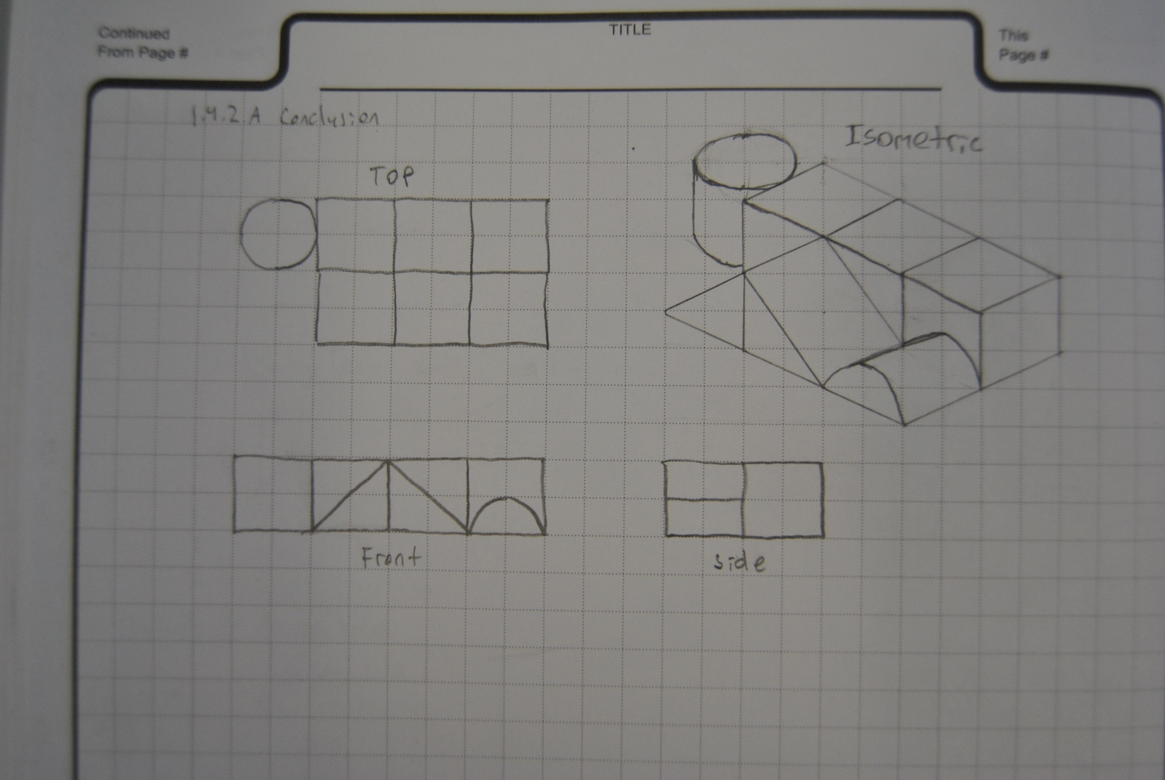 Design Amp Modeling Orthographic Drawing