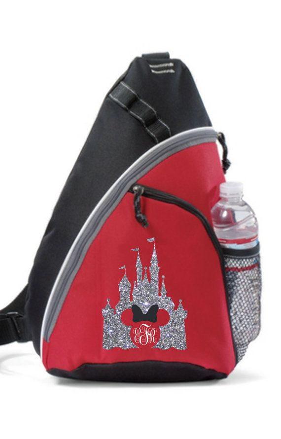 A Lovely Personalized Disney Sling Backpack that Sparkles | Disney ...
