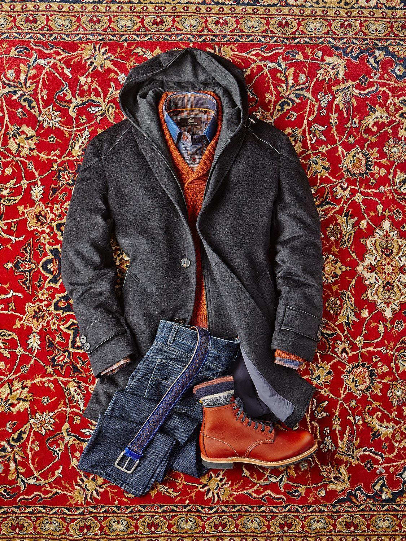 Wool cashmere flannel jacket  The Artist