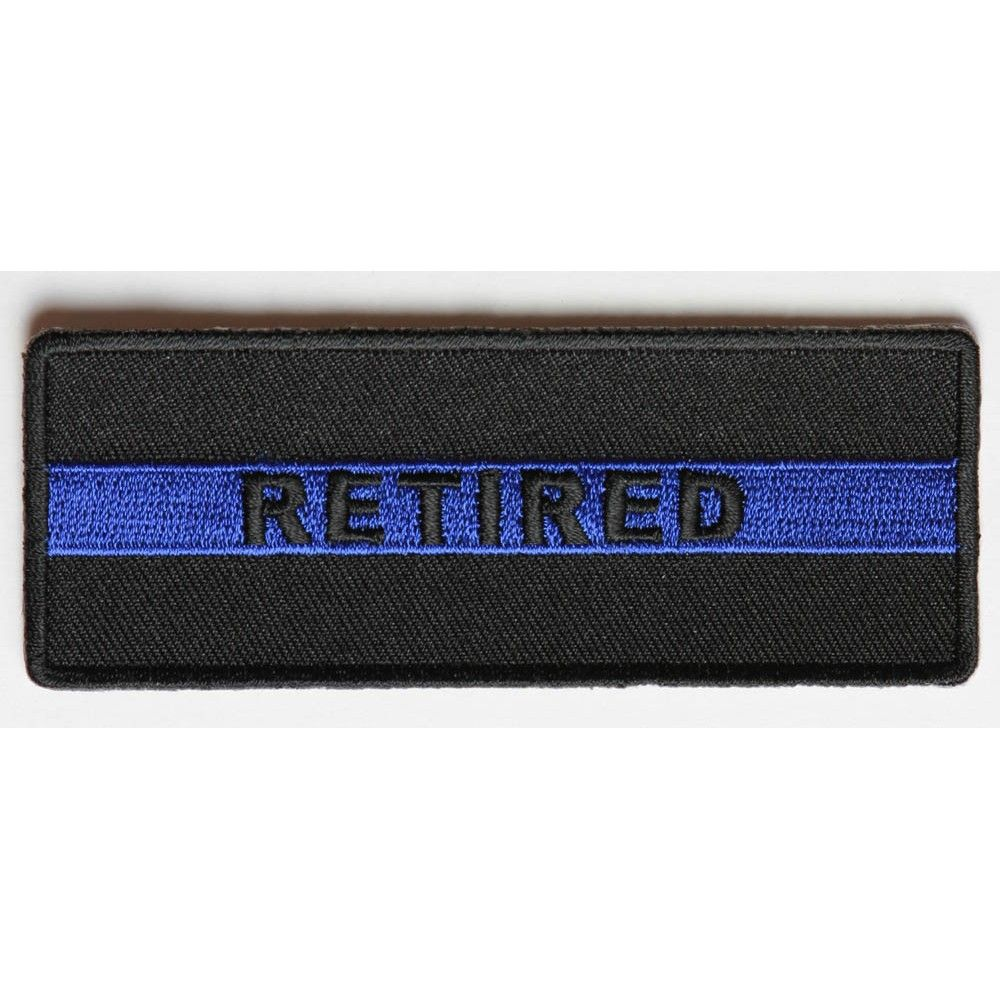 RETIRED Iron On Patch Patriotic Military Professions