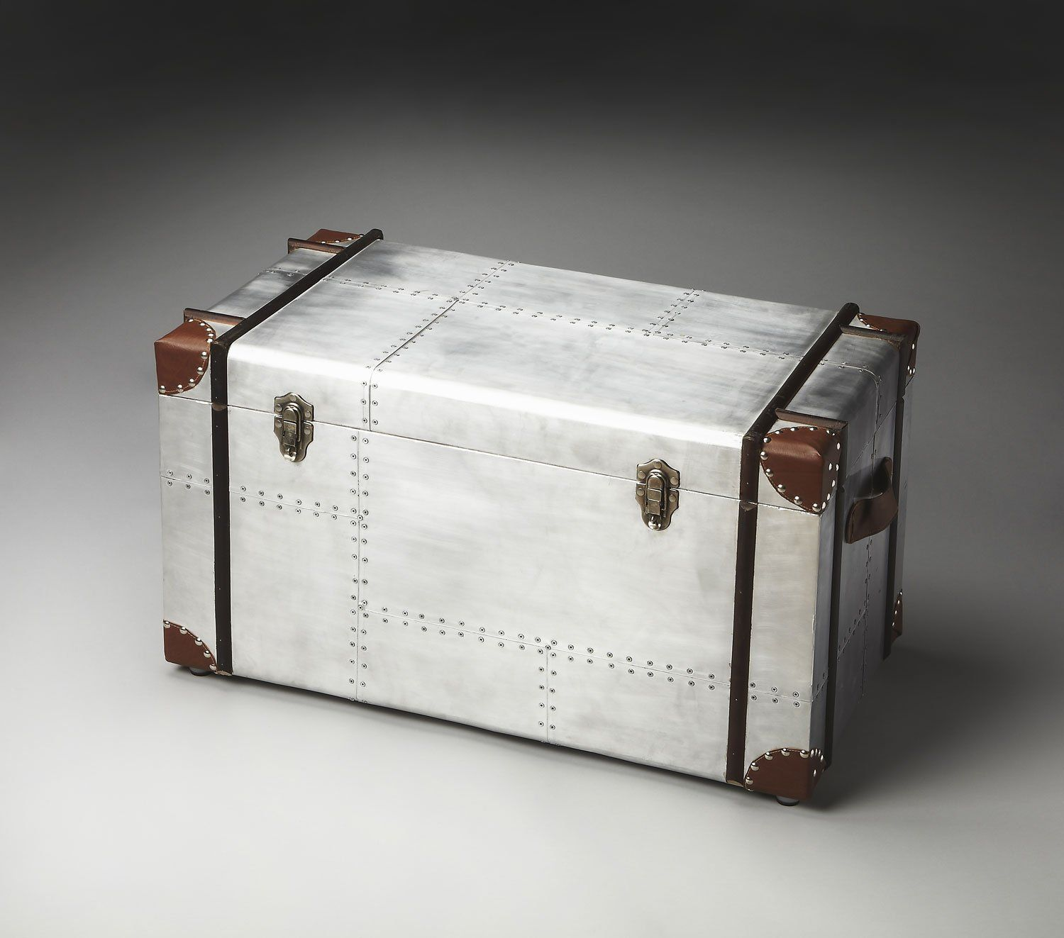 Metalworks Aviator Storage Trunk: Amazon.co.uk: Kitchen U0026 Home