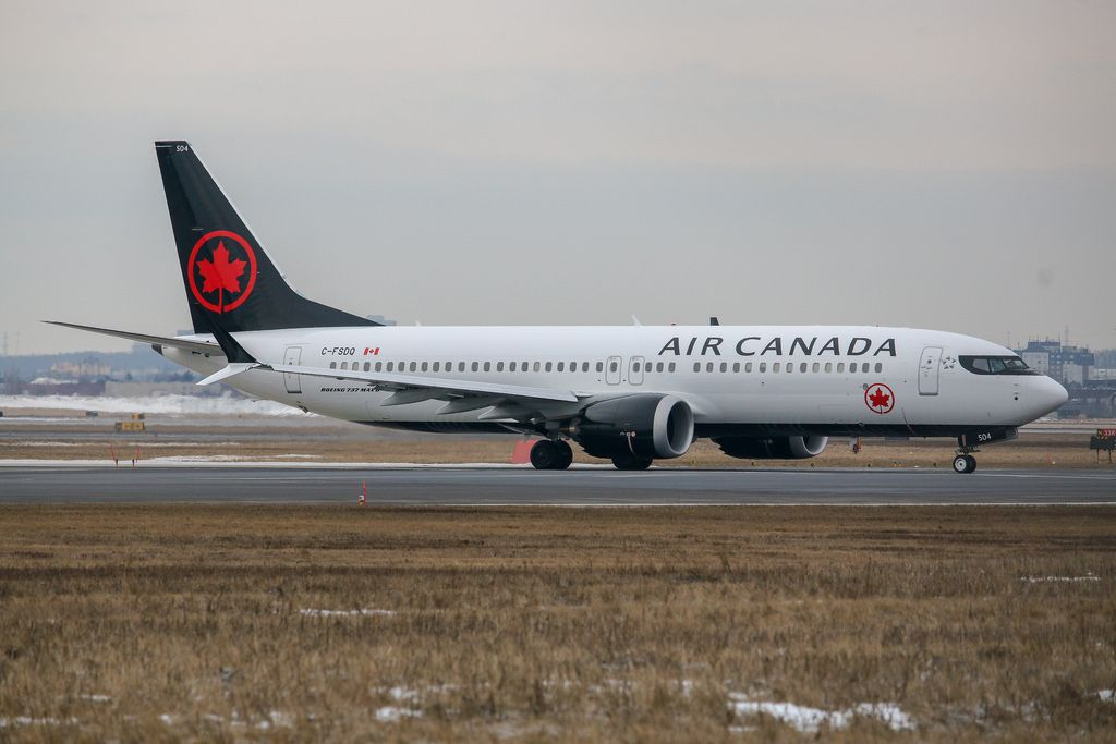 Air Canada Fleet Boeing 737 Max 8 Details And Pictures Boeing