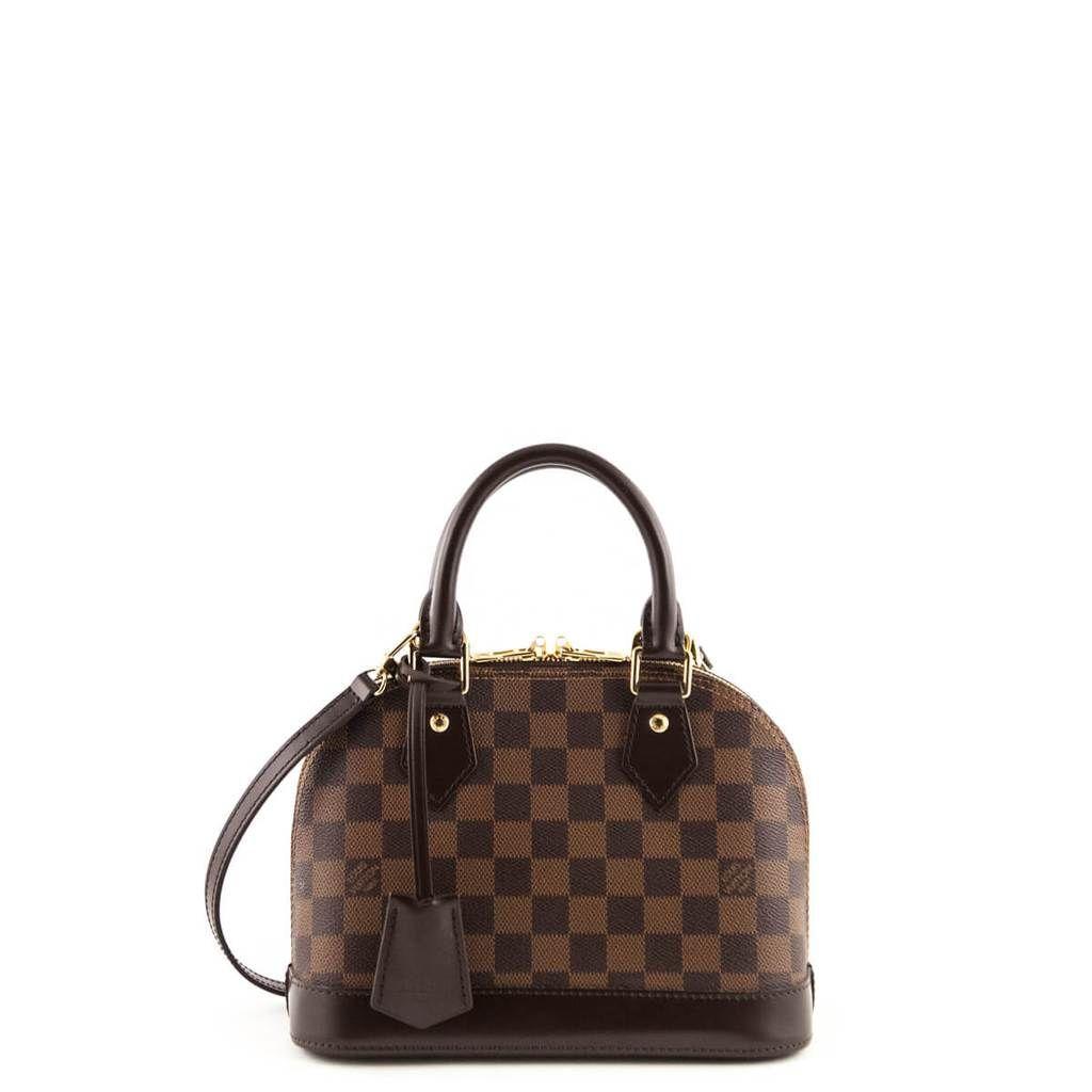Louis Vuitton Damier Ebene Alma Bb Love That Bag Preowned