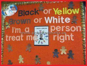Martin Luther King Day Bulletin Board Ideas - Preschool ...