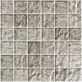 Crushed Crystal Metallic Glass Tile Tiles Glass Tile Wall And