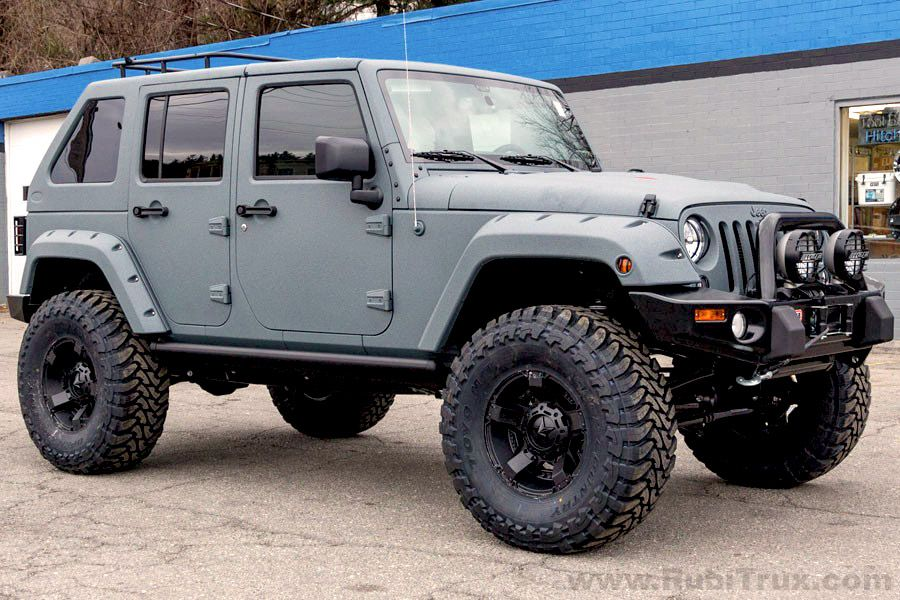 2015 Rubicon custom build with full LineX coating in