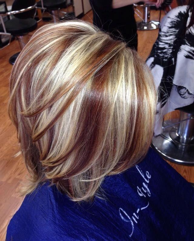 Mittellange Frisuren Mit Highlights A Hair Cut Frisuren