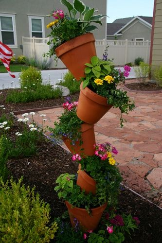 DIY: Crooked Pot Planter