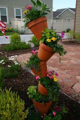 Diy Crooked Pot Planter Planter Pots Planters Garden