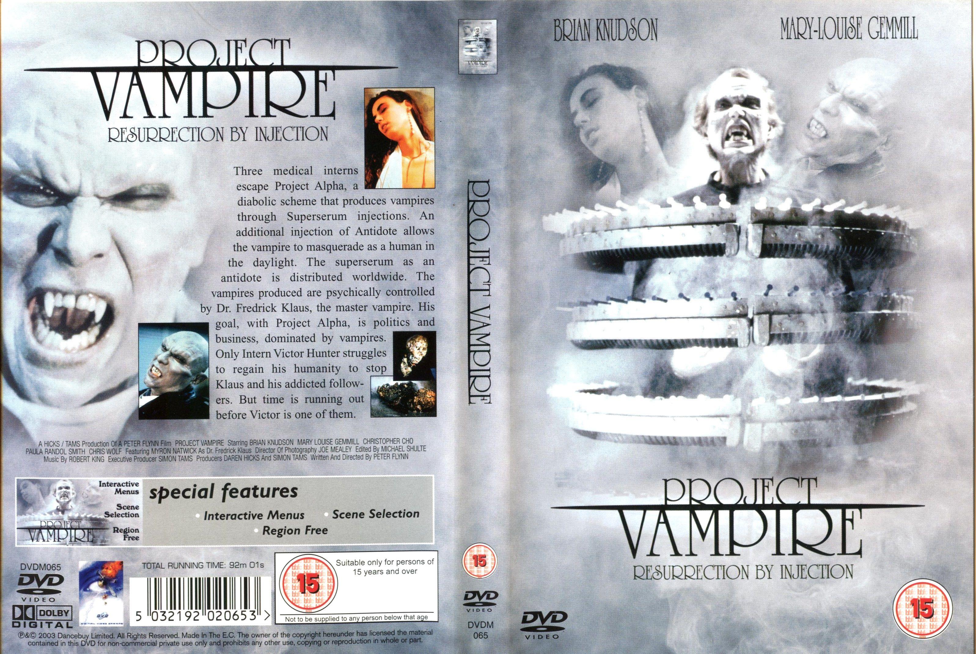 Project Vampire (1993) USA
