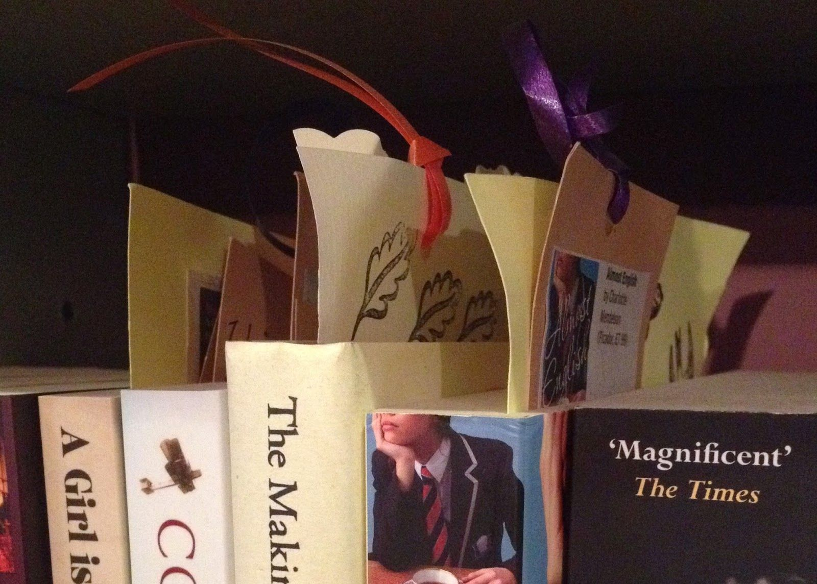 Reviews and items of interest on bookmarks at Much Ado Books