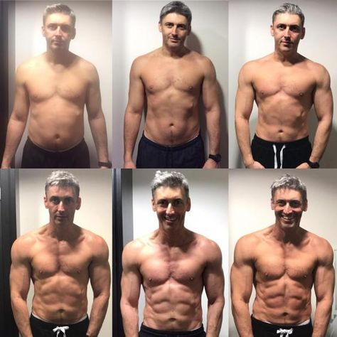 3649f1cc25b Amazing! 45 Year Old Transforms His Body In Just 12 Weeks ...
