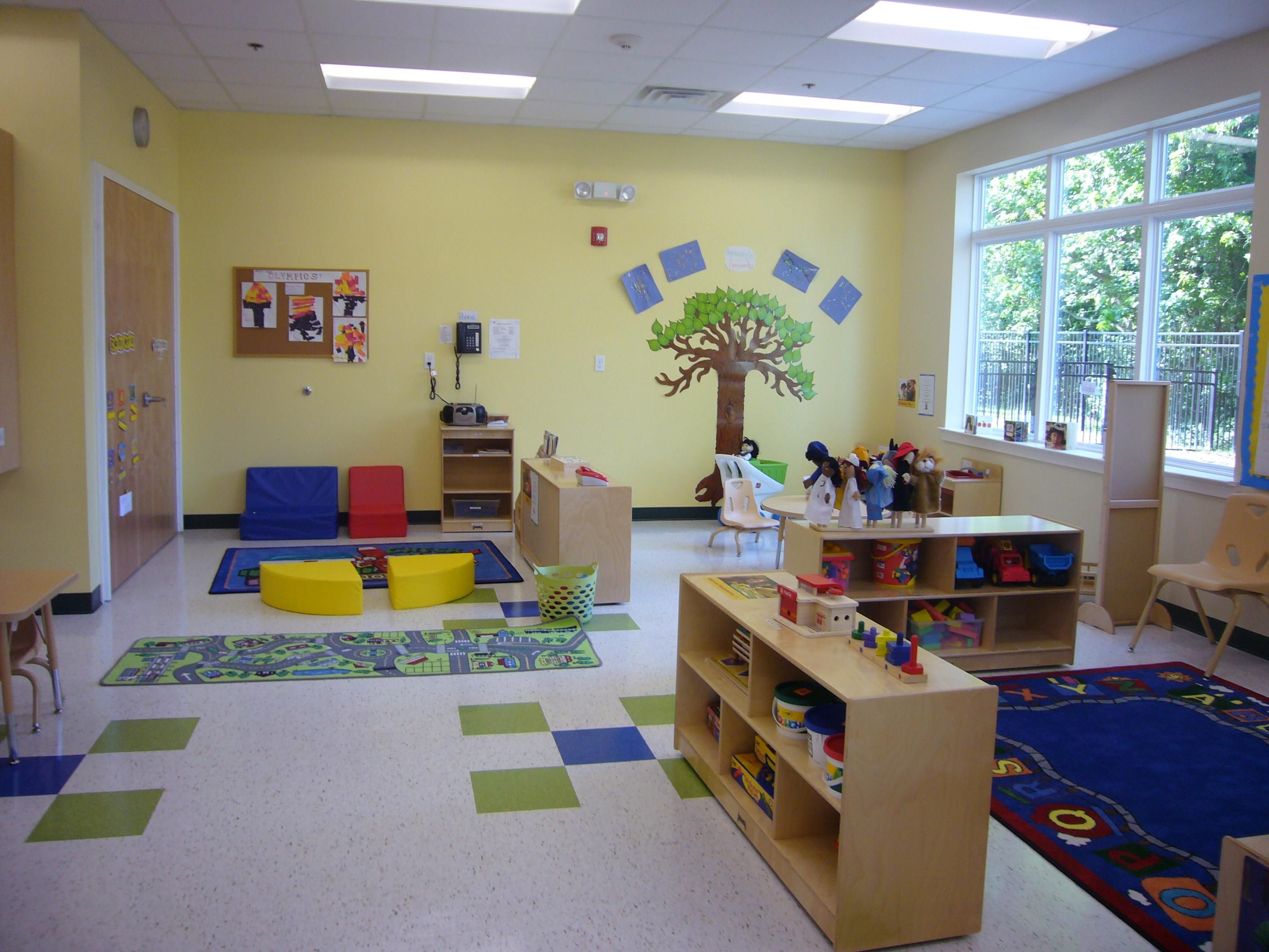 Modern Kindergarten Classroom ~ Perfect single storage units for toddler rooms at