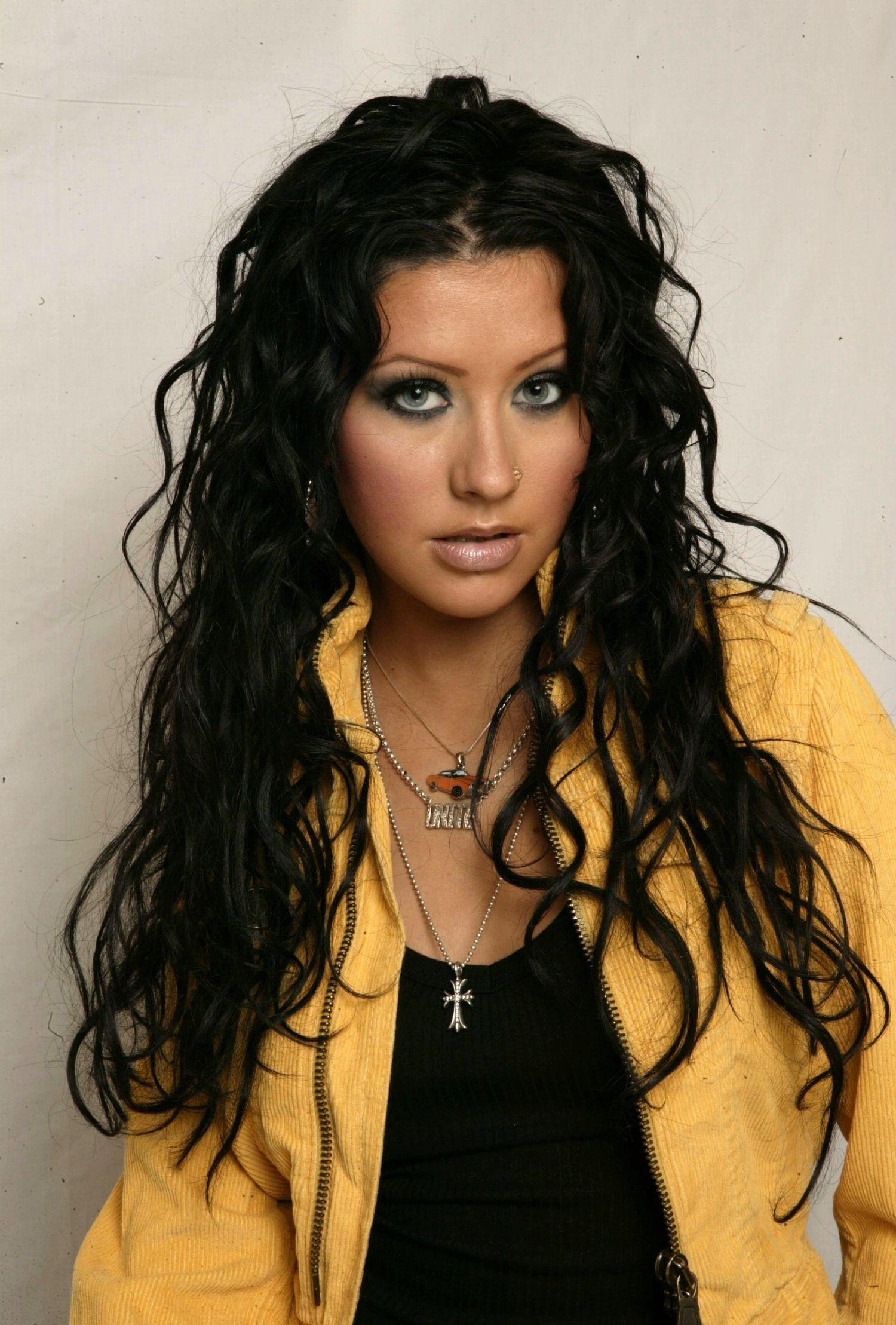 Christina Aguilera Christina Aguilera Hair Christina Aguilera Black Hair Christina Aguilera Stripped