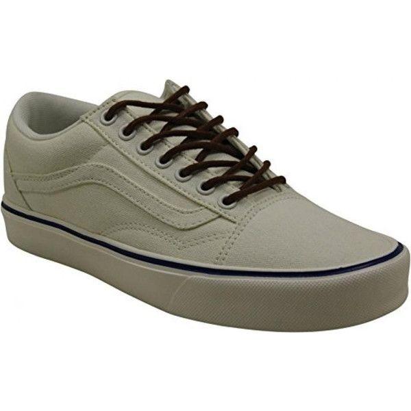 ee37c38fcef8b8 Vans Old Skool Lite Sneakers (Vintage) Classic White Mens 6   dea-regalo AU-B0198EN4D8  -  39.99   Vans Shop