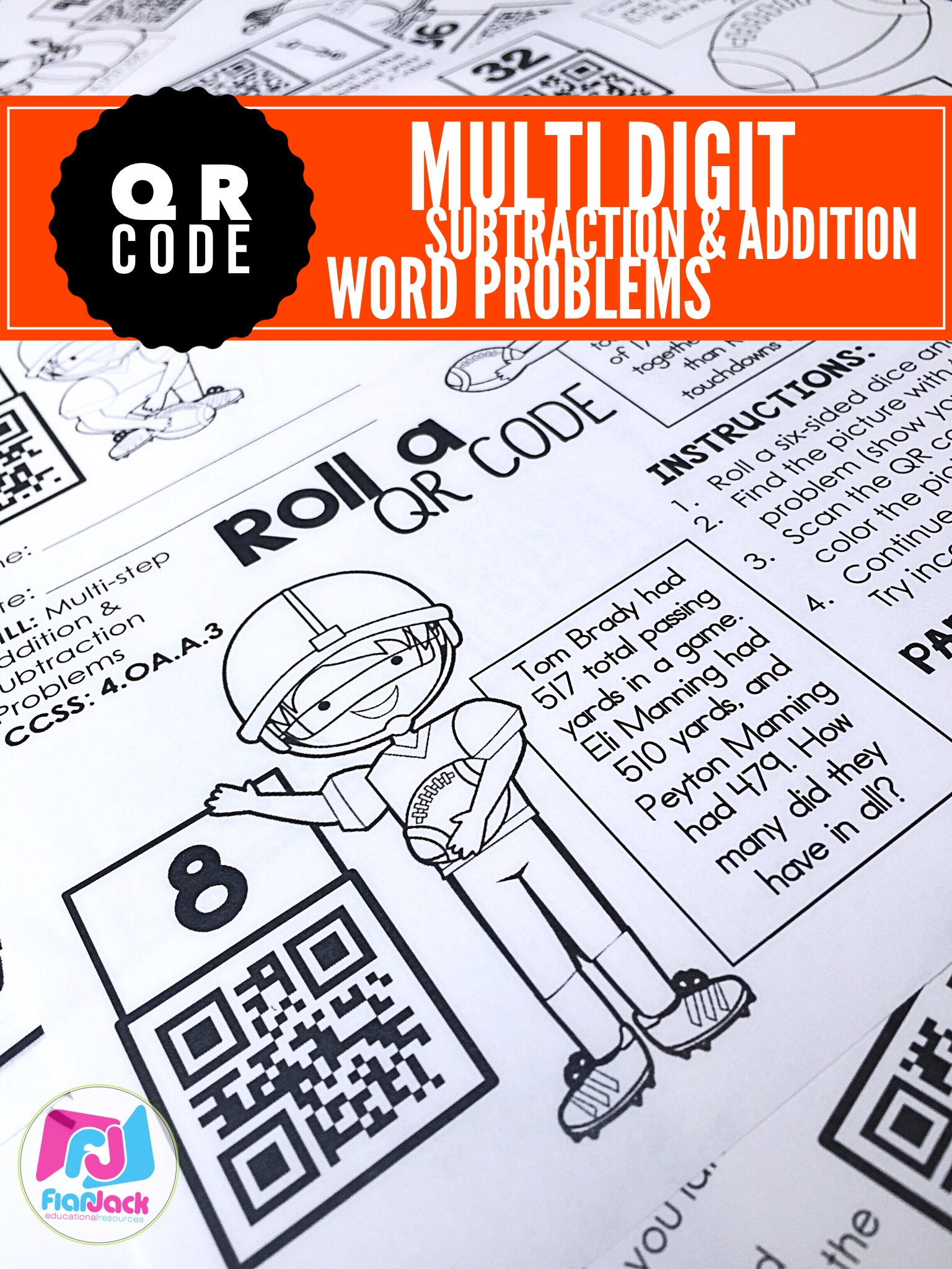 Football Qr Code Freebie And October Printables Ready