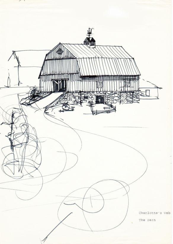 © Mirko Hanák - Charlotte's web, barn study