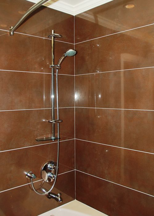 Large Format Tiles & GROHE Shower Fixtures | Bathrooms in 2018 ...