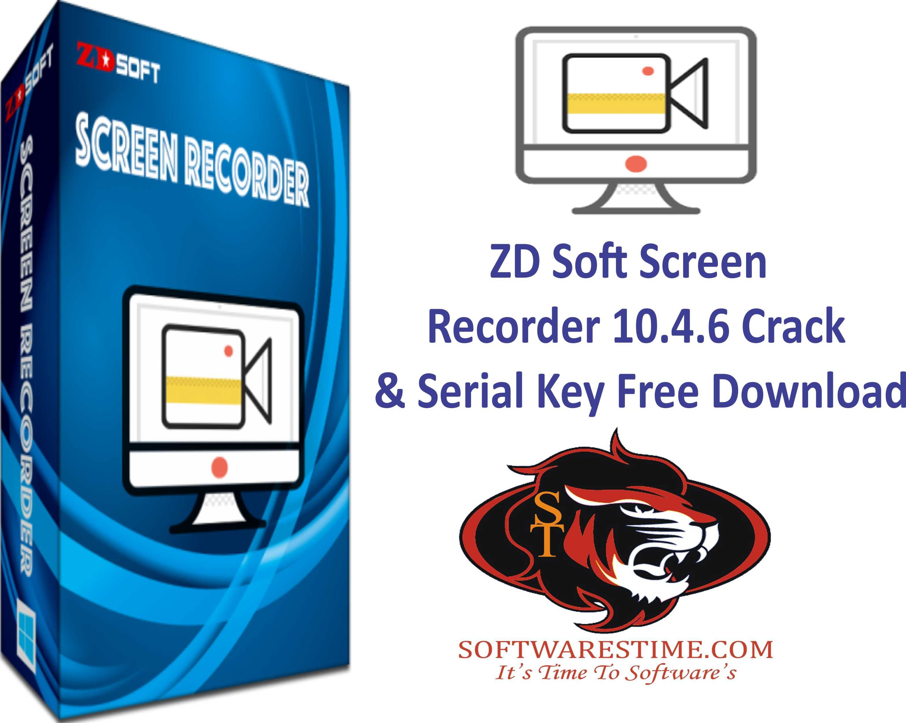 Download zd soft screen recorder + serial key