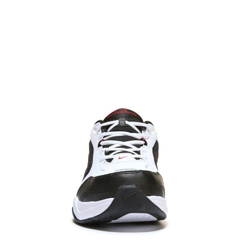 7e46e3ef4f Nike Men s Air Monarch IV X-Wide Training Shoes (White Black Red) - 14.0 4E