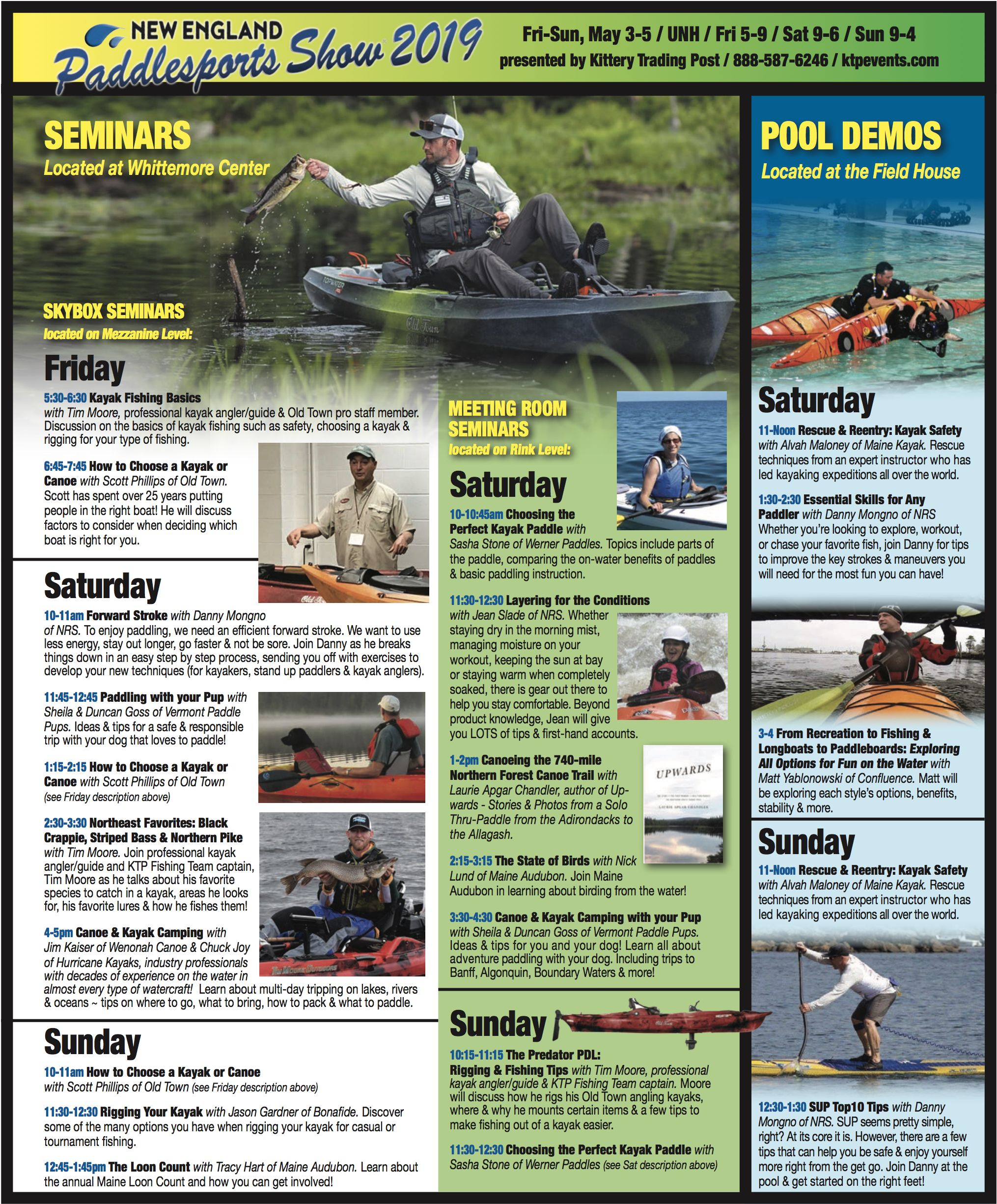 Join Us On May 3 5 At Unh For The New England Paddlesports Show