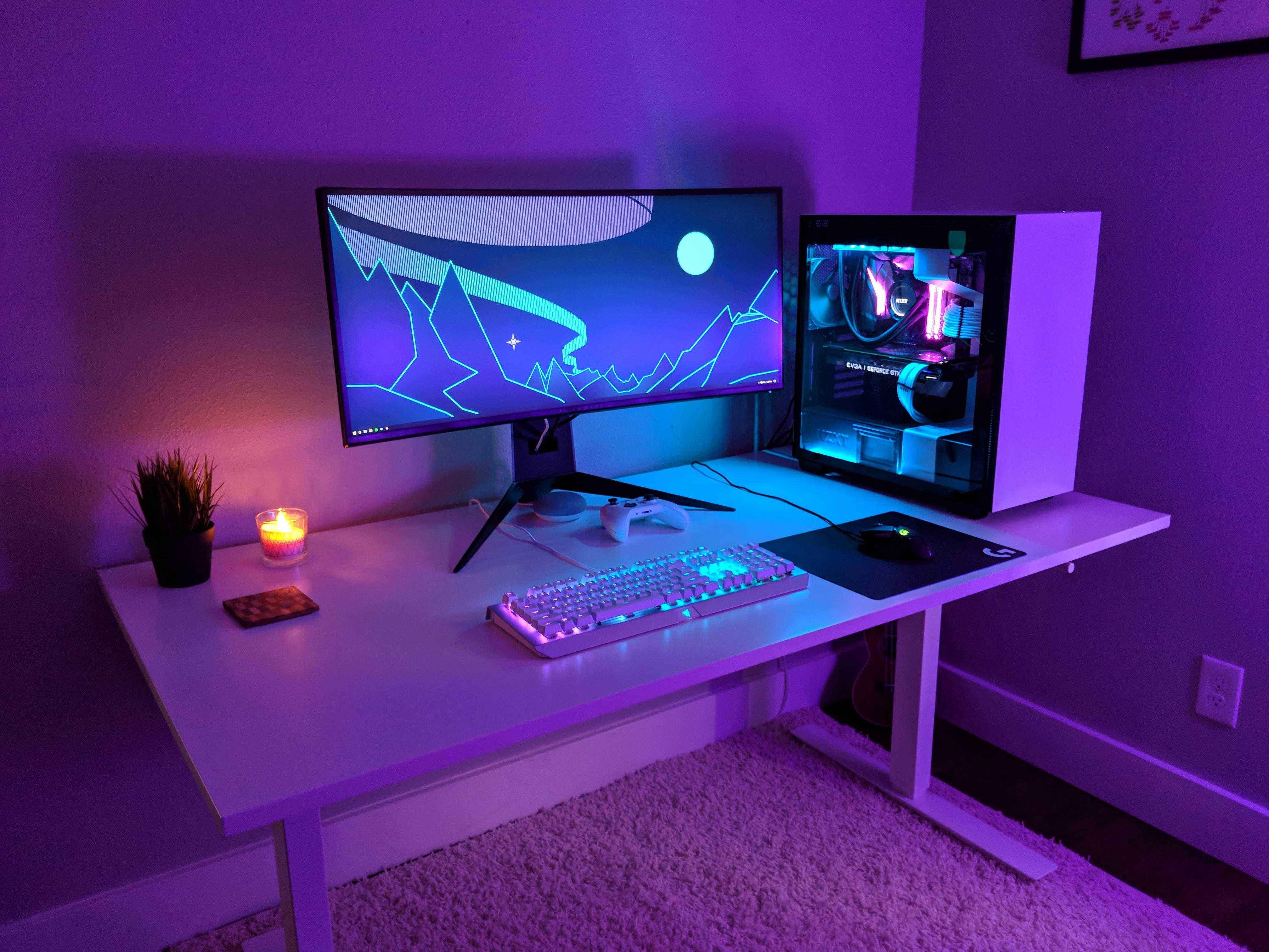 gaming setup Gaming room setup