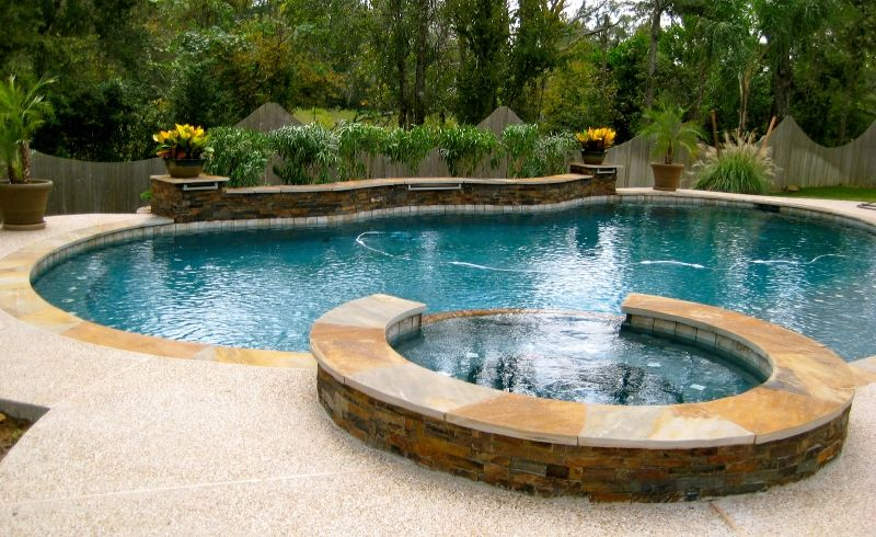 pool design Houston pool feature, Katy, Pearland, Sugar Land | Small ...