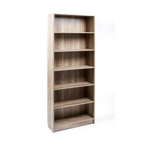 Bibliotheque Haute Danny Chene Canyon Mobilier De Salon Etageres Reglables Et Bois D Ingenierie