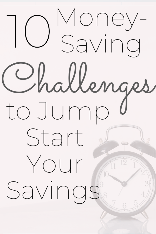 10 Money Saving Challenges to Help You Meet Your Financial