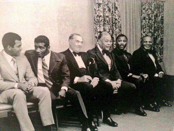 Muhammad Ali, Floyd Patterson, Jack Dempsey, Joe Louis, Joe Frazier