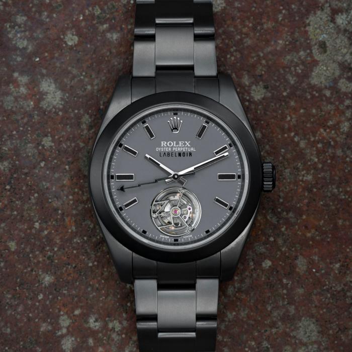 Rolex Milgauss 116400 LNT01HS-001 - Label Noir #rolexwatches