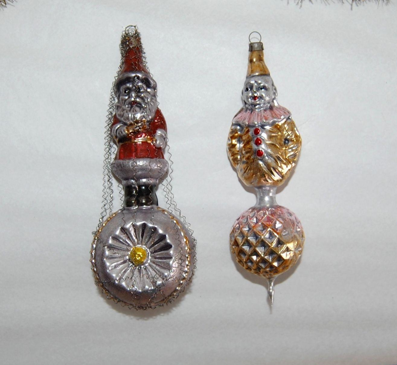 Lauschaer Weihnachtskugeln.Alter Christbaumschmuck Antiker Weihnachtsschmuck Lauscha Glas
