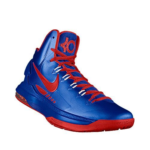 Highest - I designed this at NIKEiD - SMU KD V's. Any KD high tops ...