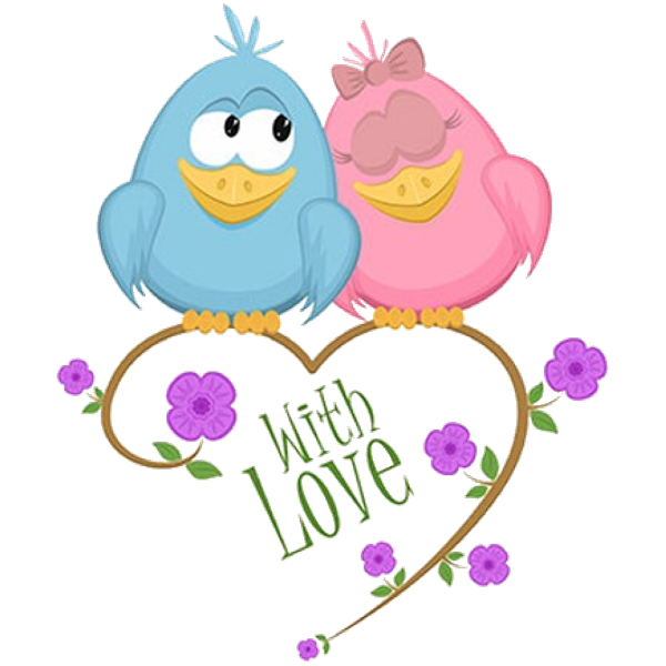 cute love birds cartoon clip art images all bird images are free for rh pinterest nz