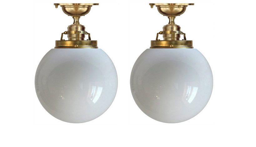 Bildresultat för klotlampa vägg